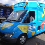 Branded Ice Cream Van Hire London