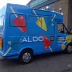 Branded Ice Cream Vans London