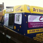 Hepatitis Awareness Ice Cream Van