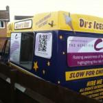 Hepatitis Awareness Ice Cream Van