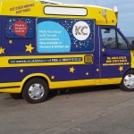 Part Branded Promotional Ice Cream Van