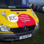 Part Branded Promotional Ice Cream Van