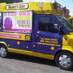 Say No to AV - Part Branded Ice Cream Van