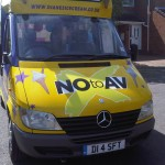Say No to AV - Part Branded Ice Cream Van