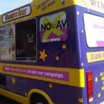 Say No to AV - Part Branded Ice Cream Van 3