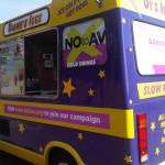Say No to AV - Part Branded Ice Cream Van 3