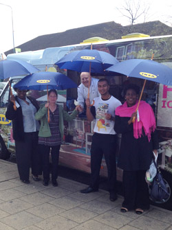 Ice Cream Van Corporate Promotional Campaign Hire