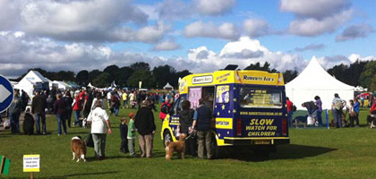 Ice Cream Van to Hire for an Event